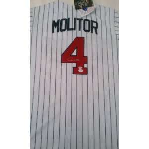 Paul Molitor Signed Milwaukee Brewers Jersey Everything