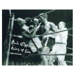 Emile Griffith Autographed Picture   16x20 vs Benny Paret