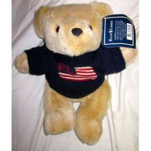 Ralph Lauren Polo Sport Bear That Cares 10 Plush Toys