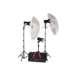 Ultra Quartz Lighting Kit with Light Cart on Wheels Carrying Case