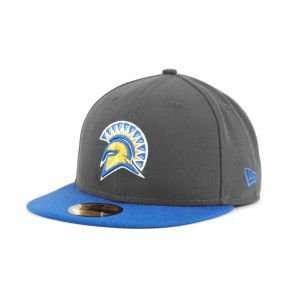 State Spartans New Era 59FIFTY NCAA 2 Tone Graphite and Team Color Hat