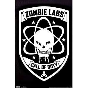 COD Black Ops   Zombie Labs Poster (22.00 x 34.00)