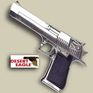 Desert Eagle Replica Chrome Pistol   Non Firing, Dummy Gun