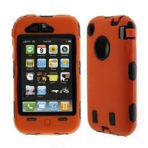 Premium   Apple iPhone 3G/ 3GS Skin with Cover Solid Orange