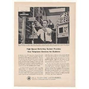 1963 Bell Telephone Labs Electronic Switching System Print