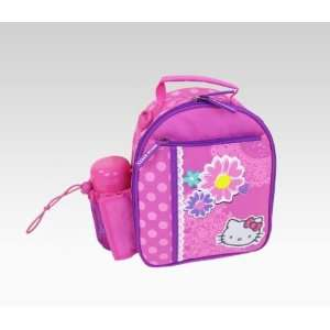 Hello Kitty Lunch Bag With Bottle Spring Flowers