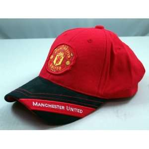 FC MANCHESTER UNITED OFFICIAL TEAM LOGO CAP / HAT   MU021