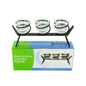 Tea light candle holder set with stand (Wholesale in a pack of 4