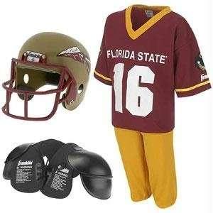 Florida State Seminoles Youth NCAA Team Helmet and Uniform