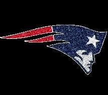 NEW ENGLAND PATRIOTS NFL team mascot logo emblem embroidery patch