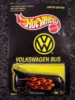 1997 HOT WHEELS #18665 LIMITED EDITION VOLKSWAGEN BUS