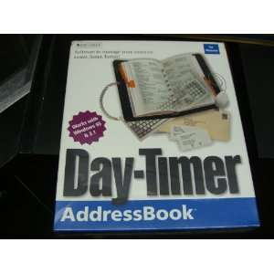 Day Timer electronic address book Software