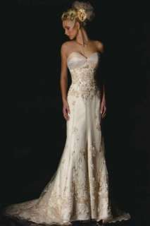 Sexy Wedding Bridal Gown Dress/Prom Gown Size6 8 10 12 14 16 18 Or