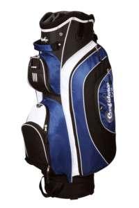 CONFIDENCE GOLF 14 DIVIDER CART BAG BLUE COOLER POCKET