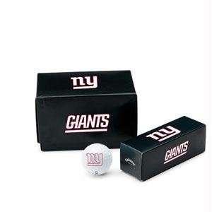 New York Giants NFL Team Logod Golf Balls (1 Dozen) by