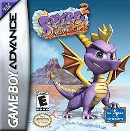 Spyro 2 Season of Flame Nintendo Game Boy Advance, 2002