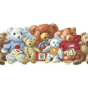 allen + roth Teddy Bears Wallpaper Border LW1342744: Home