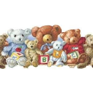 allen + roth Teddy Bears Wallpaper Border LW1342744: Home