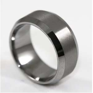 10MM Mens Tungsten Carbide Ring Wedding Band Ring Size7 Jewelry