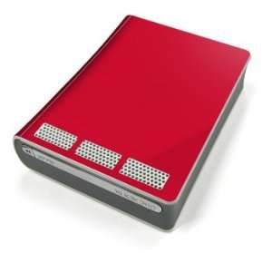 Solid State Red Design Xbox 360 HD DVD Decorative