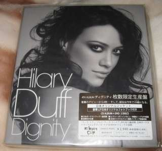 Hilary Duff   Dignity Japan Limited CD + DVD sealed +1