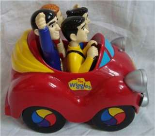 The Wiggles Big Red Car Singing Dancing Push Toy and Book