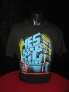 YES Vtg Concert 1987 87 Tour T Shirt 50 50% Poly Spring Ford XL Rock