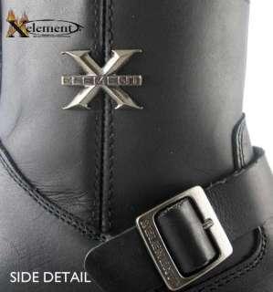 Womens Xelement Short Black Engineer Motorcycle Boot 7,5 |