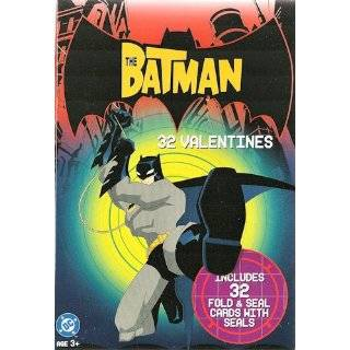 batman valentine s day cards 32 count box by dc comics cartoon network