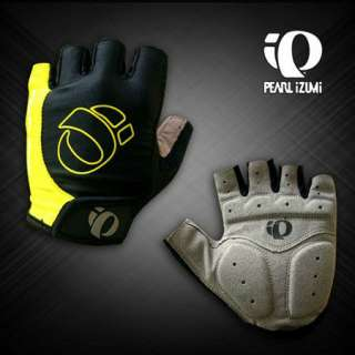 NEW Outdoor 2012 BMX Cycling Bike Bicycle Half Finger Gloves Yellow