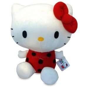 Hello Kitty Black Dots Plush Soft Toy Automotive