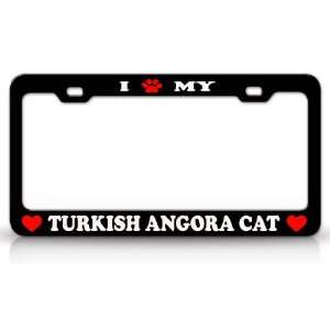 I PAW MY TURKISH ANGORA Cat Pet Animal High Quality STEEL