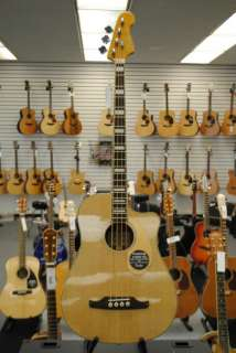 Fender Kingman Acoustic Electric Bass w/ Fishman Electronics