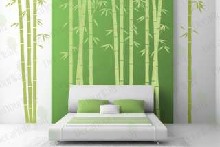 Large Bamboo Tree Forest Vinyl Wall Decal Sticker Decor
