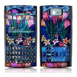 Silk Flowers Design Protector Skin Decal Sticker for Samsung BlackJack