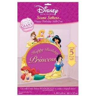 Disney Princess Birthday Party Scene Setters Add Ons