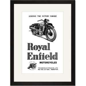 Royal Enfield Motorcycles Leading the Victory Parade