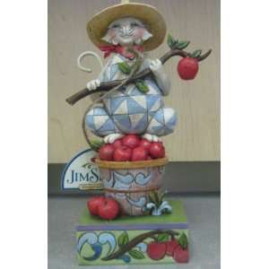 Enesco Jim Shore 4019237 Apple Picking Cat: Everything Else