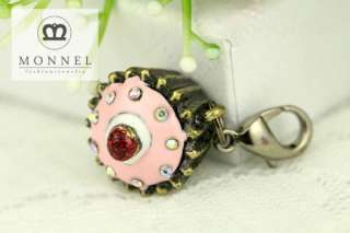 This is the Cute Cute Birthday Cupcake Charms Pendants (1 piece)
