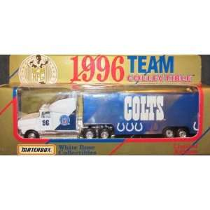 Indianapolis Colts NFL Diecast 1996 Matchbox Tractor