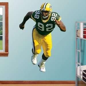 Reggie White Green Bay Packers NFL Fathead REAL.BIG Wall