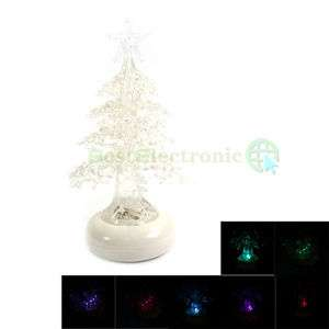 Colorful USB Christmas Tree Desk Mini Decor Xmas New