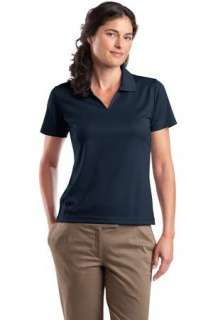 Sport Tek   Ladies Dri Mesh V Neck Sport Shirt. L469
