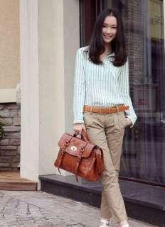 New Fashion Women Messenger Satchel Shoulder Bag Handbag PU Leather