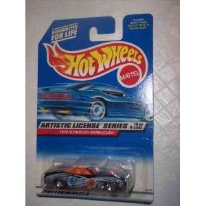 Artistic License #4 1970 Plymouth Barracuda 5 Spoke Blue