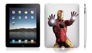Iron Man Apple iPad 2 And iPad 1 vinyl Decal Skin Sticker Cool