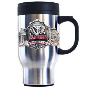 Alabama Crimson Tide College Travel Mug