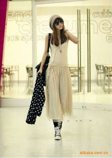 Bohemian Lady Maxi Dress Womens Casual Long BOHO Vest dresses S471