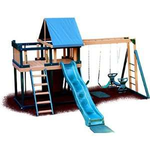 Monkey Playsystem Swing Set Green Package #1 Toys & Games