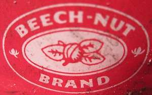 VINTAGE BEECH NUT COFFEE CAN 50 60s 3.5 X 5